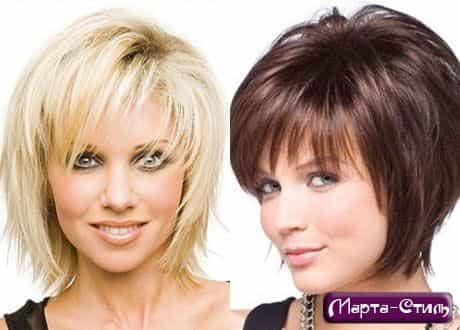 Женские стрижки на средние волосы как и прежде находятся на лидирующих. .  Фото - Каскадные стрижки средней длины...