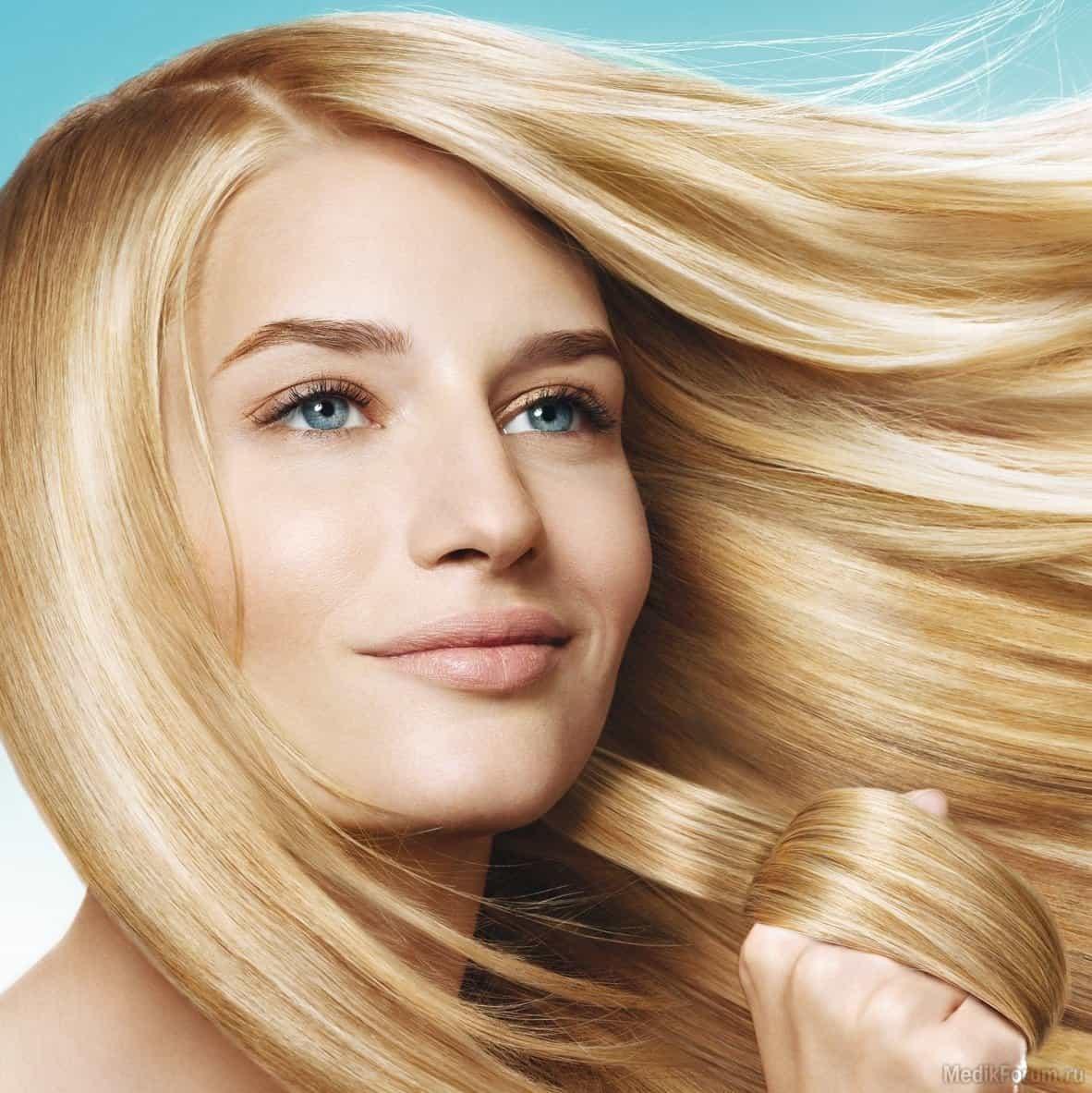 Современное осветление волос