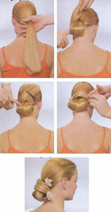 Причёски своими руками фото как делать