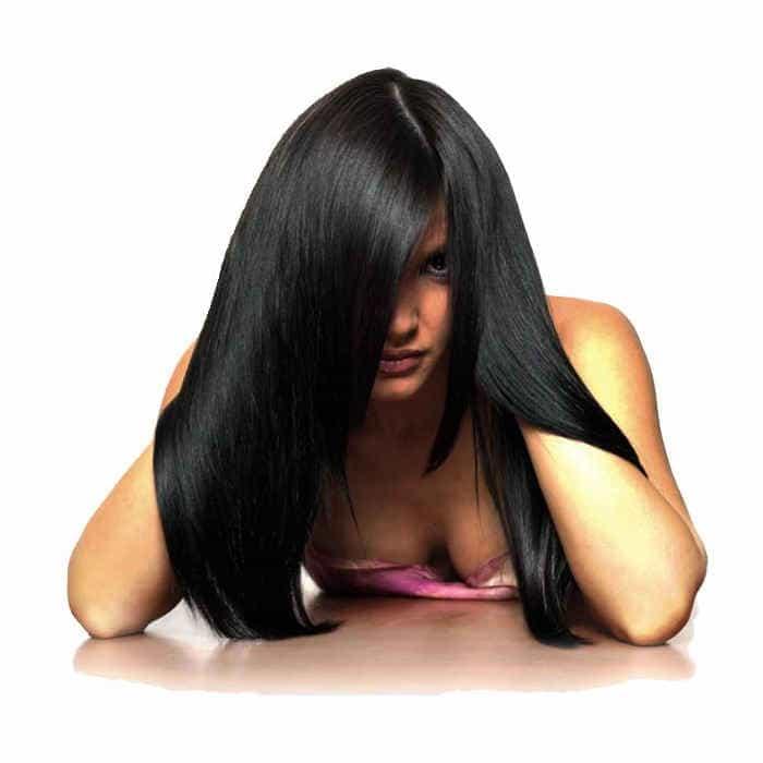 оцените сами результат кератинового лечения волос
