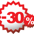Скидка 30% на торжественную прическу