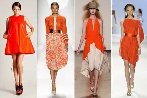 Насыщенный оранжевый