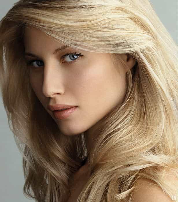 Профессиональное блондирование волос