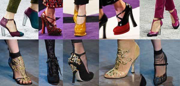 Модный фасон обуви весной 2014