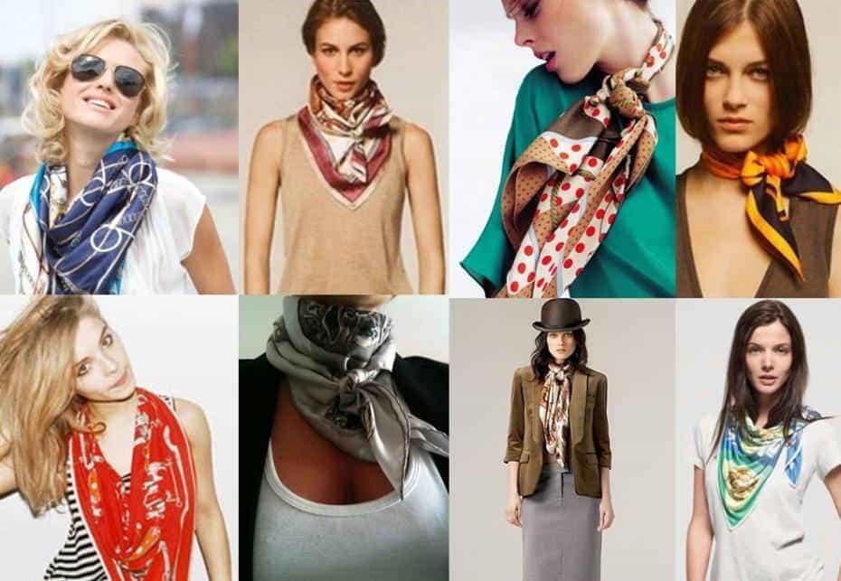 Летние шарфы