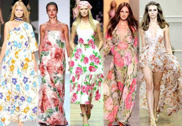 Модные летние сарафаны 2014 года