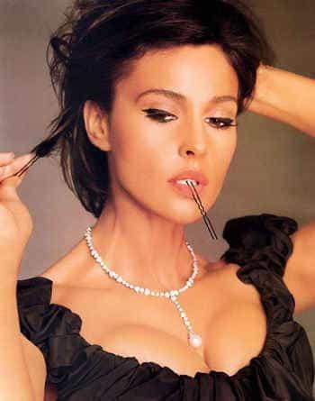 Моника Беллуччи и макияж