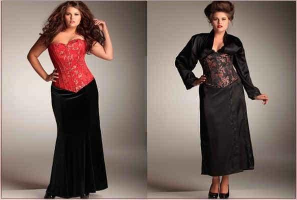 Платья с корсетами
