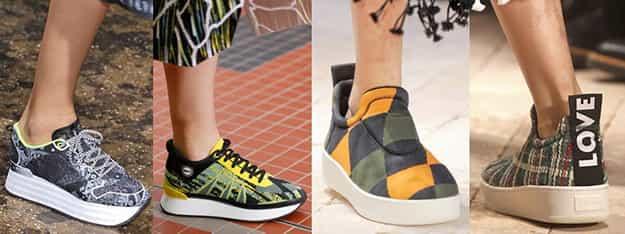 Модные женские кроссовки весна-лето