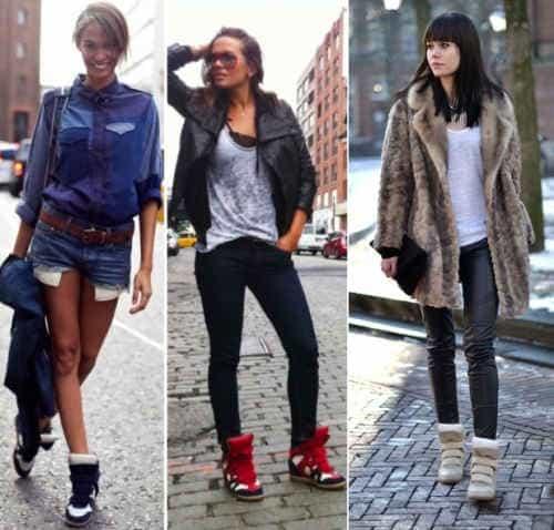 С чем носить кроссовки 2014