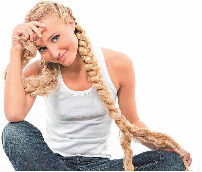 заплести волосы в косу на ночь