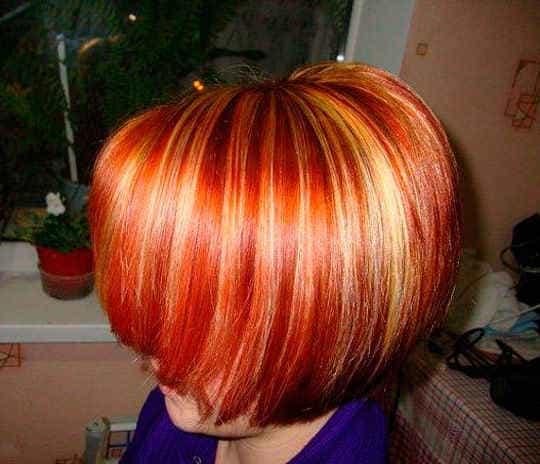 биоламинирование на короткий волос