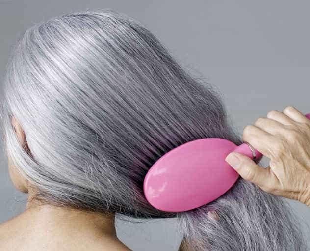 цель - красивые волосы выбранного тона