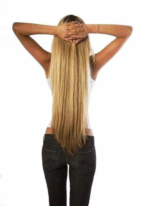 длинные ухоженные волосы - секретное оружие