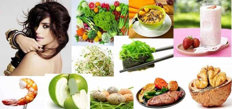 длинные волосы -  следим за питанием