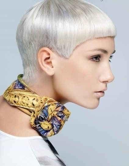 искусственно созданный седой волос