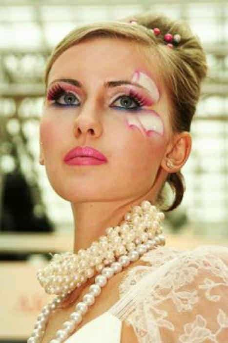 макияж для невест с фантазией