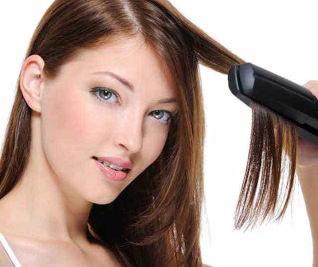 прямые гладкие волосы
