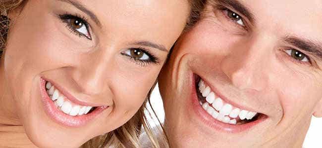 красивые белые и здоровые зубы