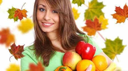 Похудение осенью