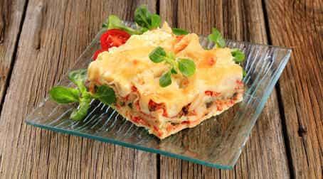 пример осеннего блюда вкусная овощная запеканка