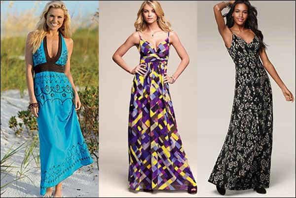 Длинные платья в пол 2014