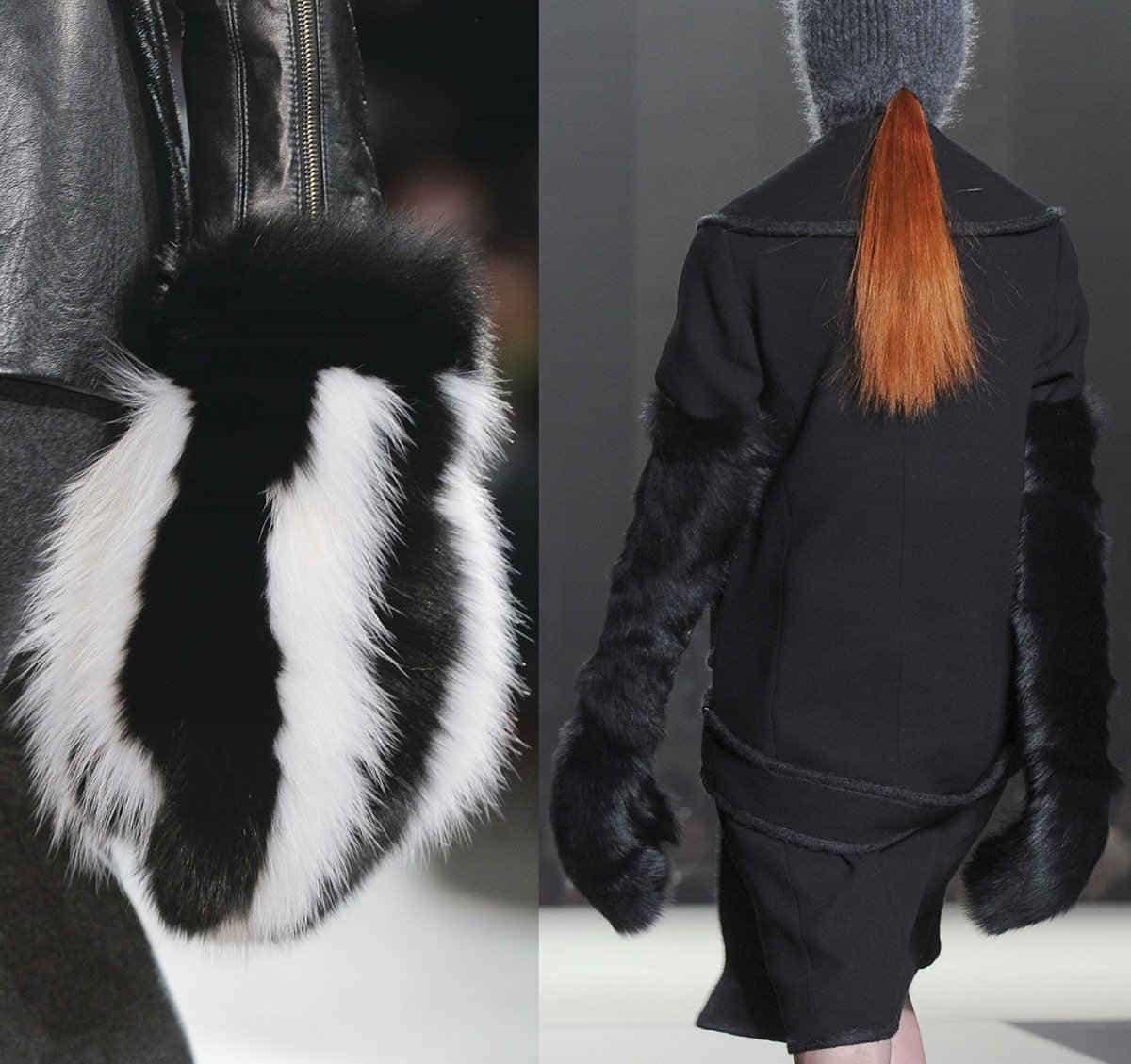 Женские модные варежки 2014