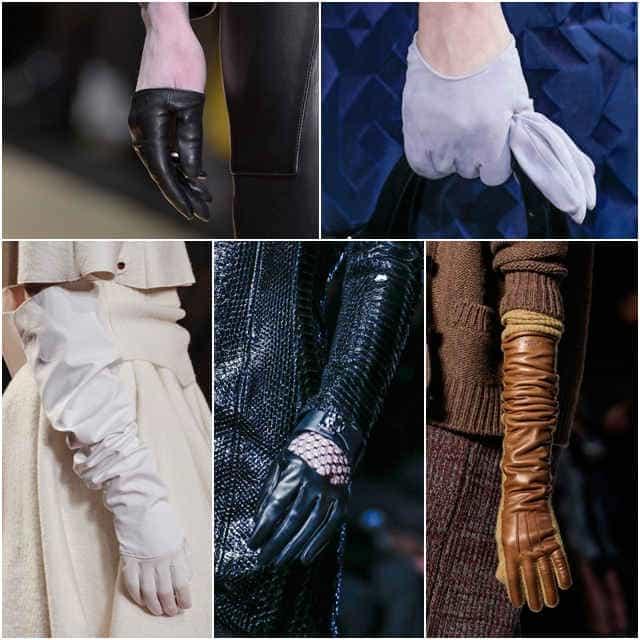 Модные перчатки и варежки 2014