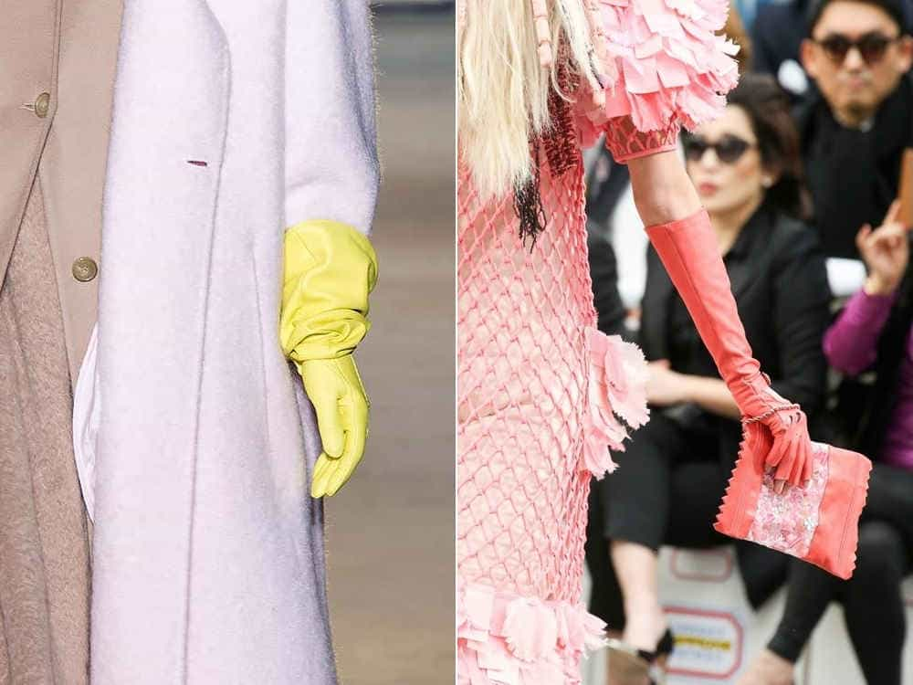 Модные перчатки осень-зима 2014