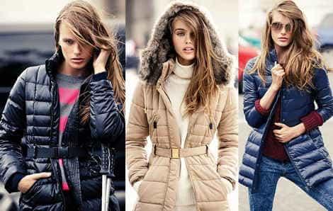 Модные пуховики 2014