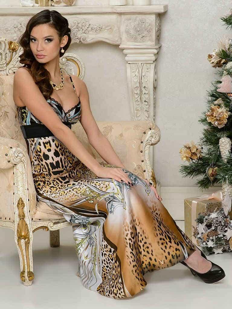 Новогоднее платье 2015