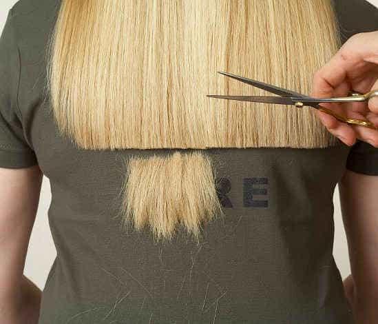 Отстричь секущиеся кончики