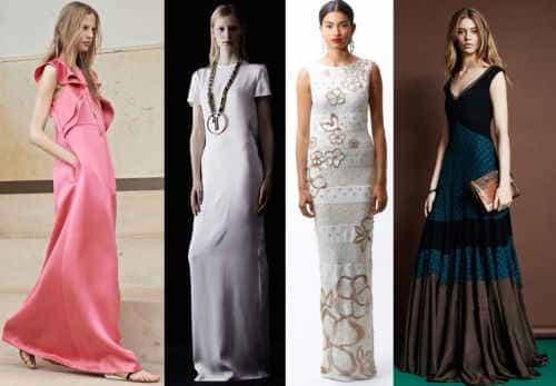 Платья макси 2014