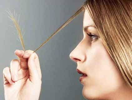 Секутся кончики волос