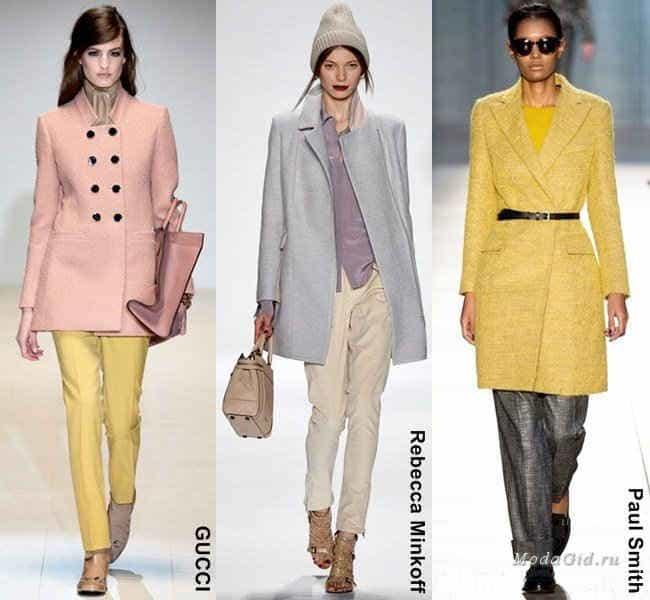 Трендовые пальто осени 2014