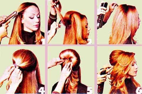 главное не жалеть лака для волос