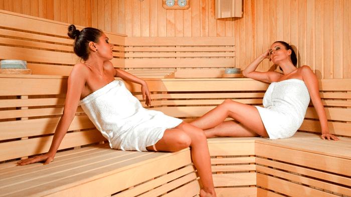 посещение сауны - процедура релакса и терапии