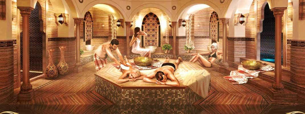 римская  баня у нас не так популярна, а зря