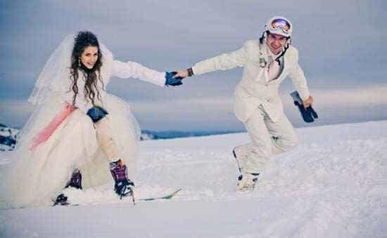 зима - прекрасное время для свадьбыjpg