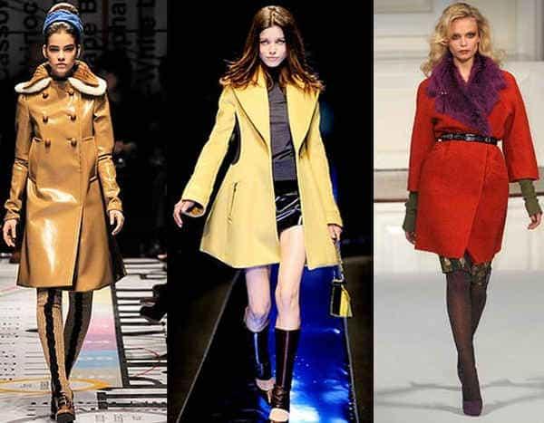 актуальные этой  зимой фасоны пальто