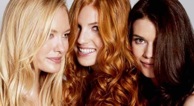 блондинка, брюнетка и рыженька - выбор за вами