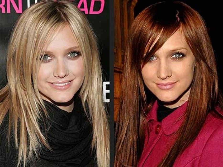 цвет волос должен соответствовать и цвету лица