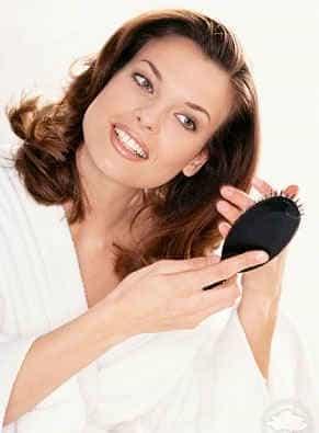не забывайте про ежедневный уход за волосами