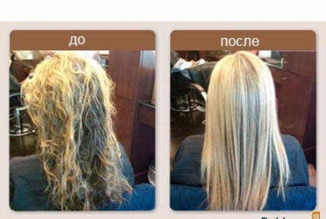 пример возвращения к жизни волос