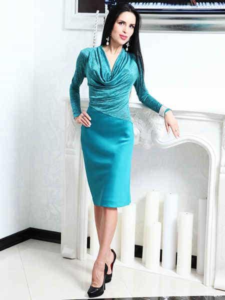 универсальное платье миди