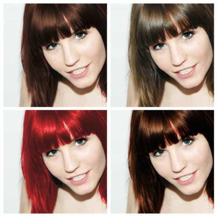 выбираем цвет волос