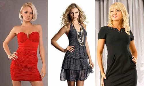 выбираем коктельное платье