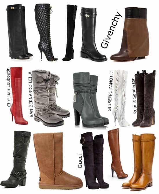 зимняя трендовая обувь