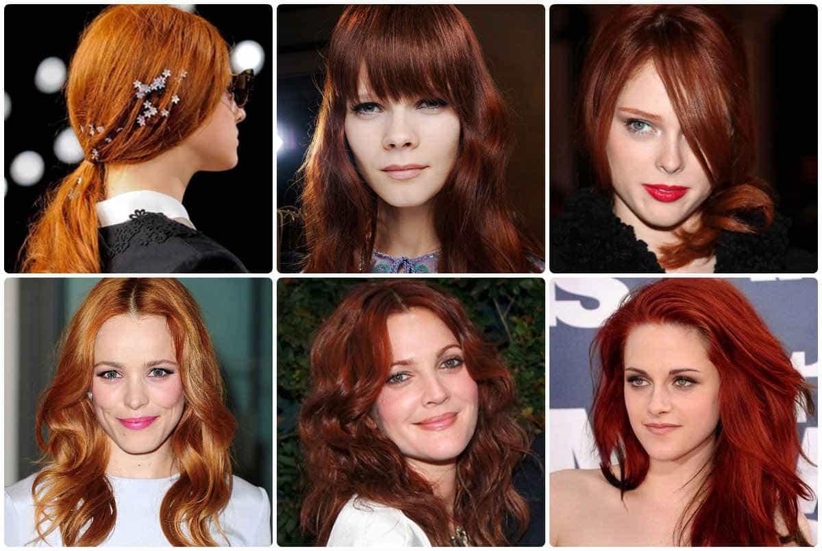 Рыжий цвет волос - тенденция 2014