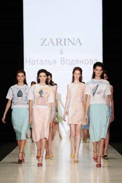Zarina совместно с Натальей Водяновой